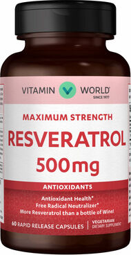 Maximum Strength Resveratrol YouthGuard™ 500 mg