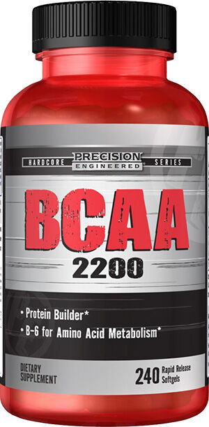 Precision Engineered® BCAA 2200 240 Softgels