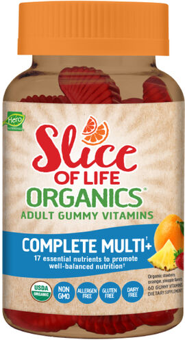 Slice of Life Organics® Complete Adult Multivitamin Gummies