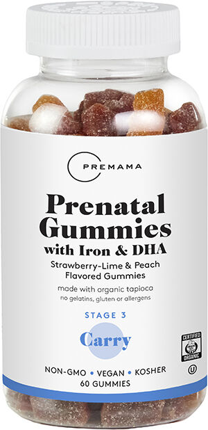 Premama Prenatal Vitamin Gummies With Iron and DHA