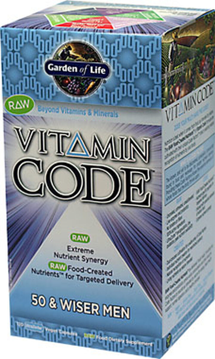 organics vitamin life of men code evolution garden capsules