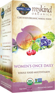 Garden Of Life mykind Organics Women's Once Daily Multivitamin 30 Tablets