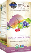 Garden of Life mykind Organics Women's Once Daily Multivitamin
