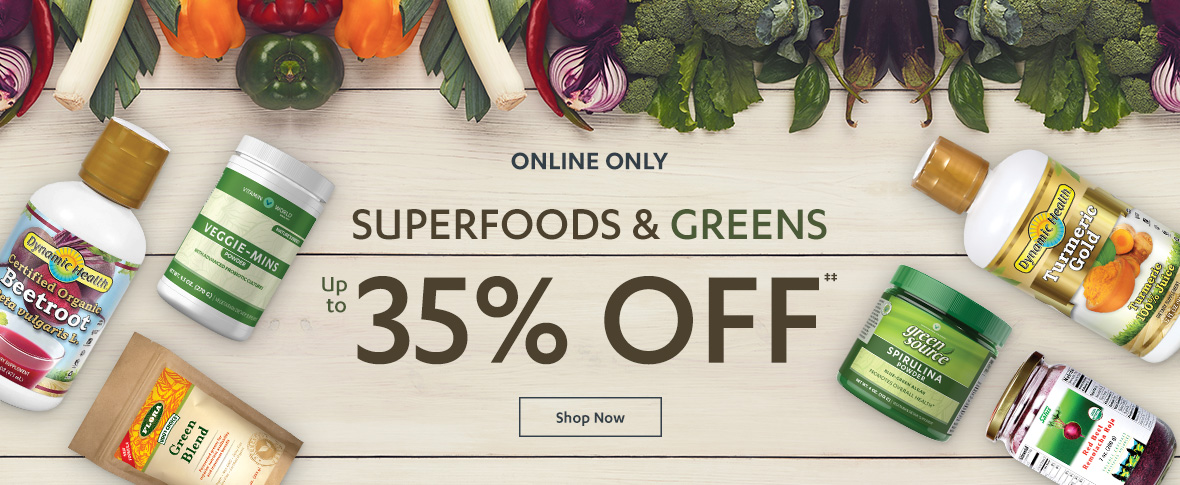 Rotator 3 - Superfood & Green Sale
