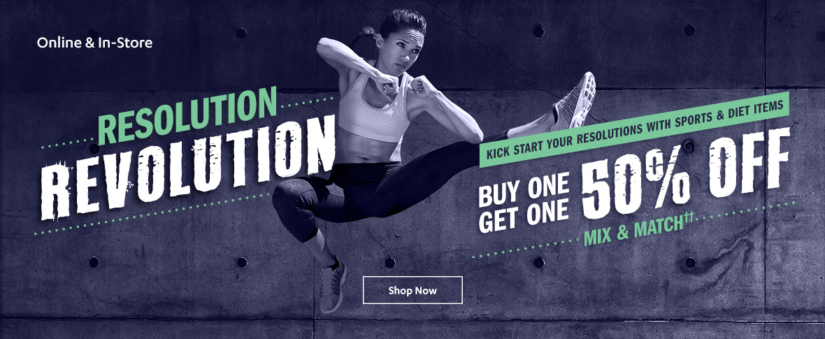 Rotator 3 - Sports & Diet BOGO 50% off