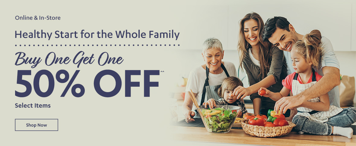 Rotator 2 - Healthy Start For Family! BOGO 50%