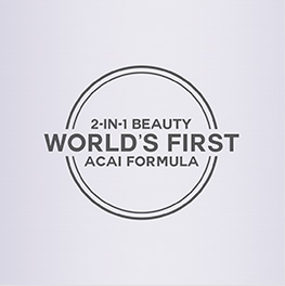 World's First 2-in-1 Beauty Acai Formula
