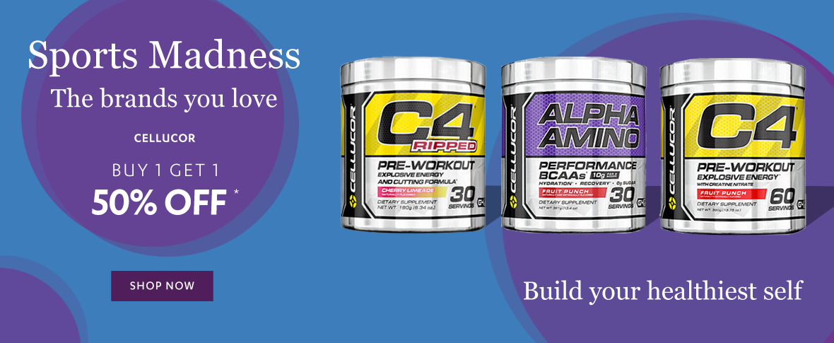 Rotator 4 -  Buy 1 Get 2nd 50% Off Cellucor Sports