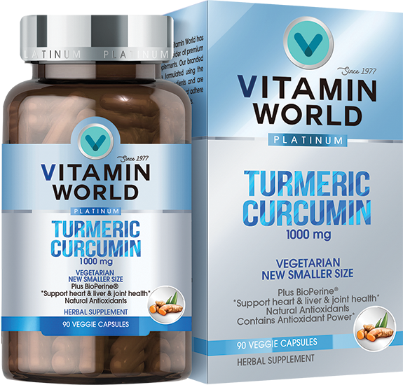 Vitamin World Turmeric Curcumin 1000mg