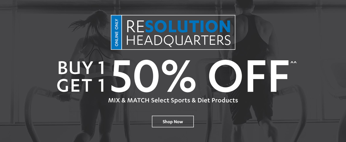 Rotator 3 - Buy One, Get One 50% off Sports & Diet