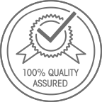 100% Quality Assured