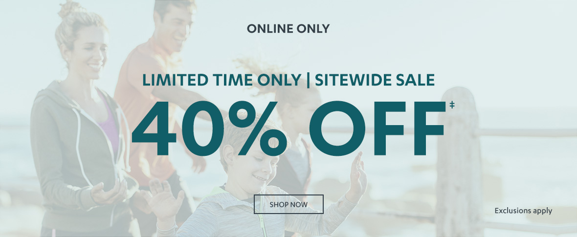 Rotator 1 - 40% off Sitewide