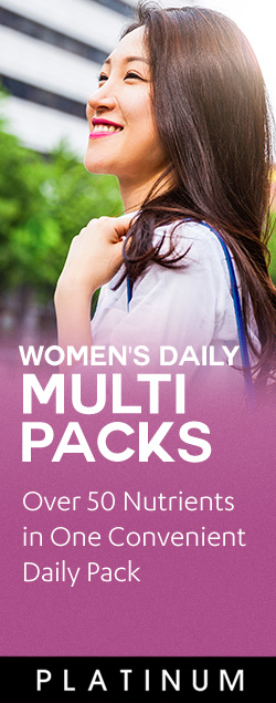 Women's Daily Multi Packs - Over 50 Nutrients in one convenient daily pack