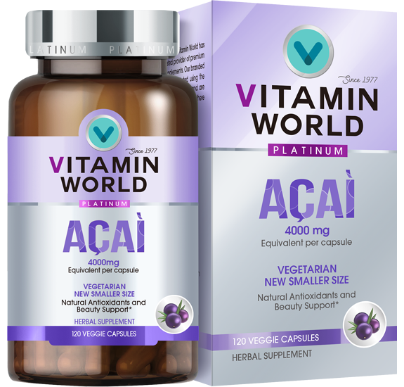 Vitamin World® Platinum Acai 4000mg