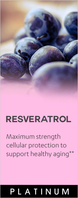 Resveratrol - Maximum strength cellular protection to support healthy aging**