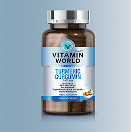 Vitamin World® Platinum Turmeric Curcumin