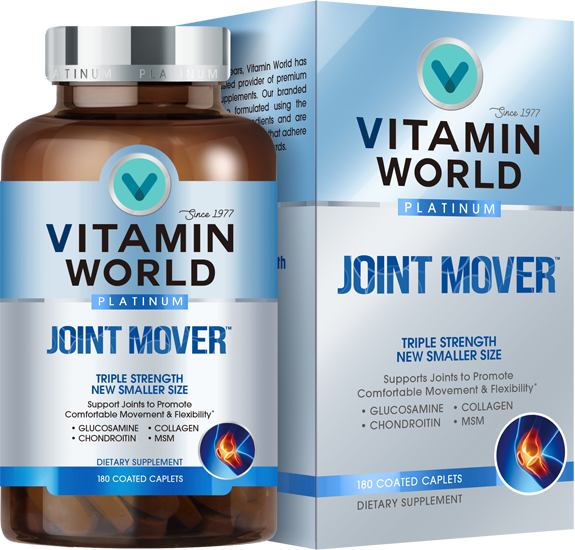 Vitamin World® Platinum Triple Strength Joint Mover