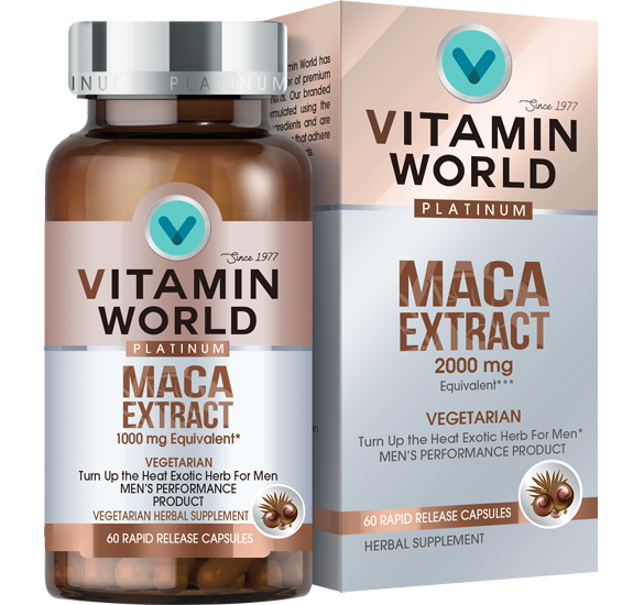 Vitamin World® Platinum Maca Extract 2000 mg