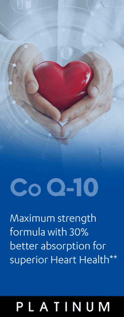 Co Q-10 - Maximum strength formula with 30% better absorption for superior hearth health**