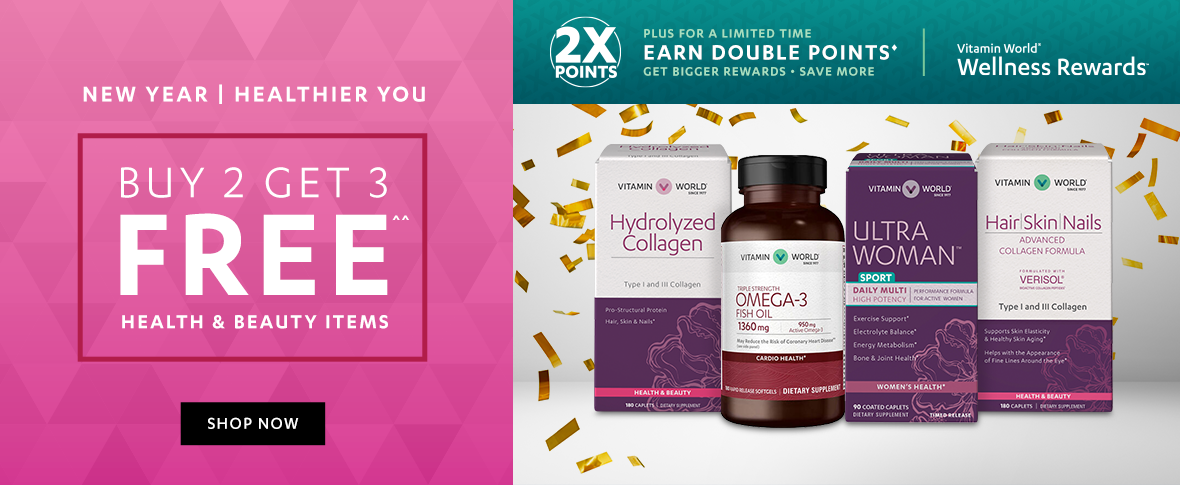 Rotator 4 - Buy 2 Get 3 Free Health and Beauty