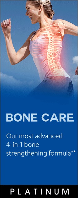 Bone Care - Our most advanced 4-in-1 bone strengthening formula**