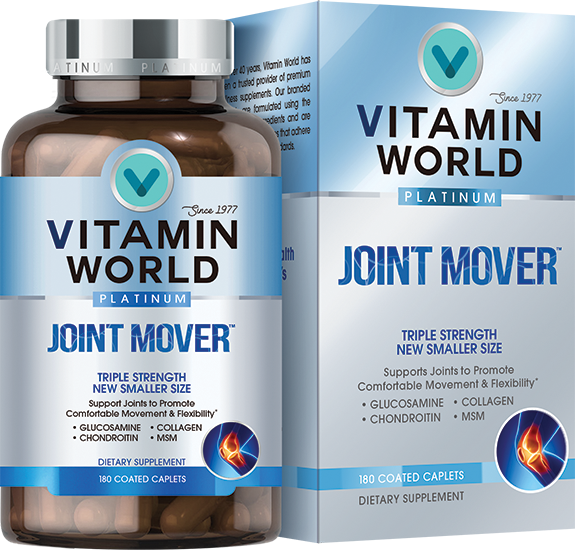 Vitamin World Platinum Triple Strength Joint Mover