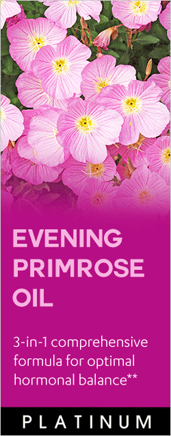 Evening Primrose Oil - 3-in-1 comprehensive formula for optimal hormonal balance**