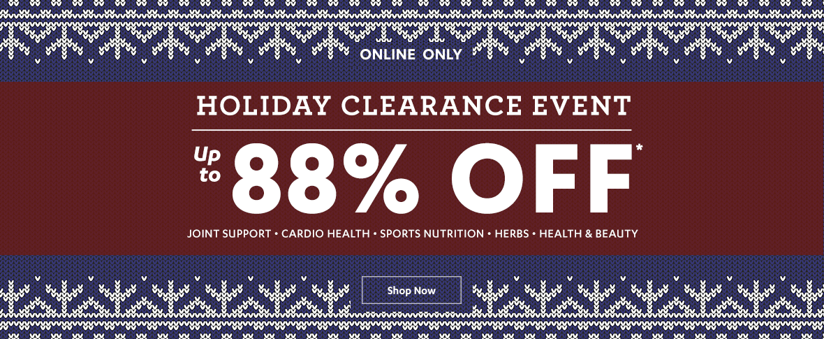 Rotator 3 - Holiday Clearance Event Up to 88% off