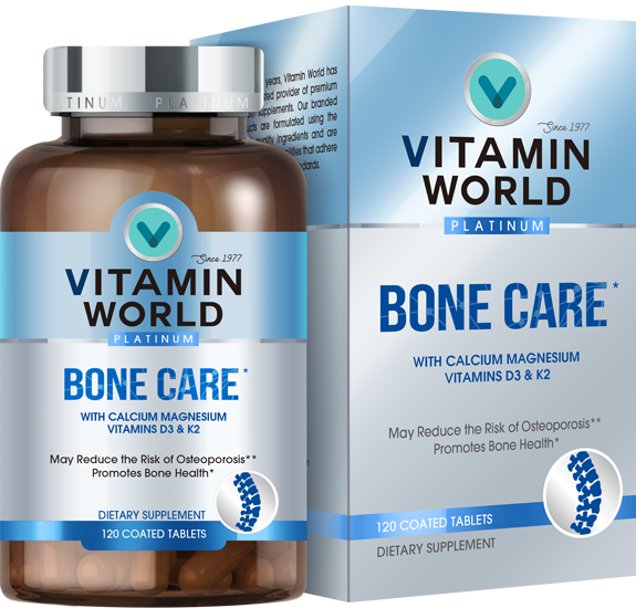 Vitamin World® Platinum Bone Care