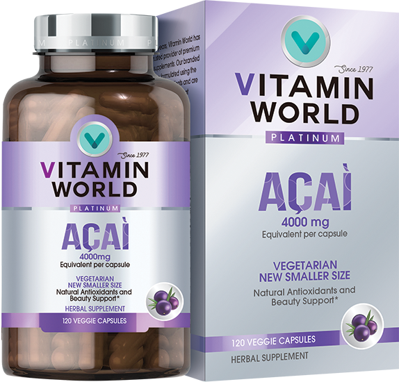Vitamin World Platinum Acai 4000mg