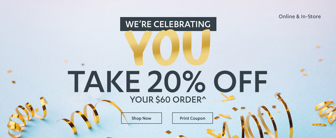 Rotator 1 - 20% off $60 or More