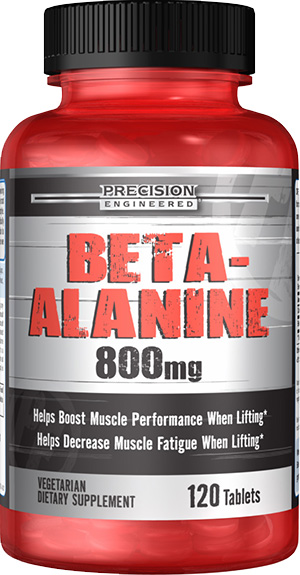beta alanine for increased lactic acid cleanup