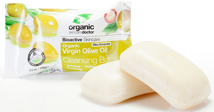 Organic Doctor Virgin Olive Oil Cleansing Bar