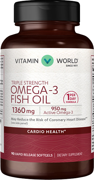 Triple Strength Omega-3 Fish Oil