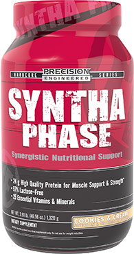 Syntha Phase Whey Protein Cookies & Cream 2.91 lbs.