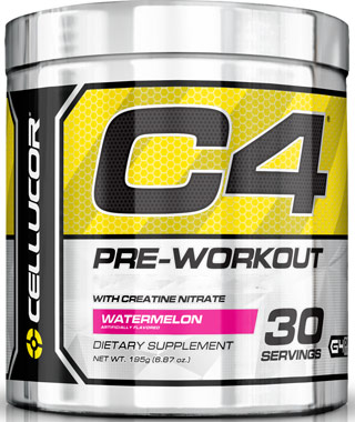 C4 Pre Workout Watermelon 6.87 oz.