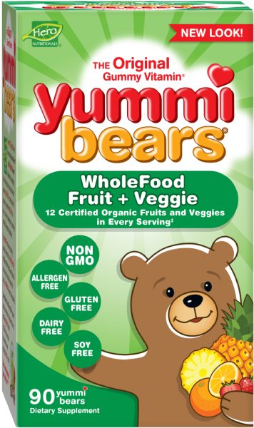 Yummi Bears® Wholefood + Antioxidants