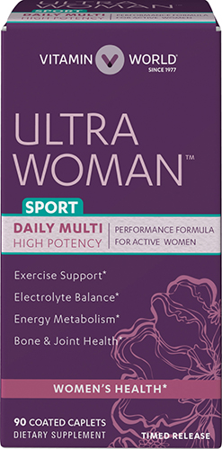 Ultra Woman™ Sport Daily Multivitamins VW.ULTRA WOMAN SPORT.90.CPT