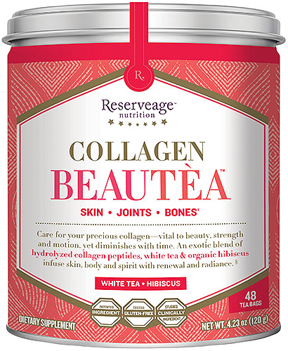 Collagen BeauTea White Tea & Hibiscus