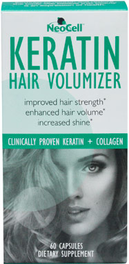 Keratin Hair Volumizer VW.NEOCELL KERATIN.60 CT.CAP