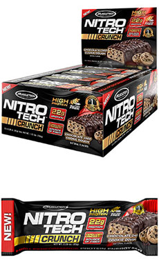 Nitro Tech™ Crunch Protein Bars Chocolate Chip Cookie Dough