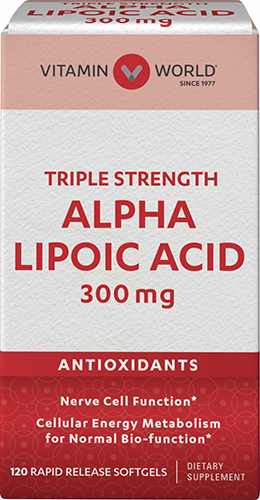 alpha lipoic acid is a powerful antioxidant and mimics insulin for good blood sugar regulation