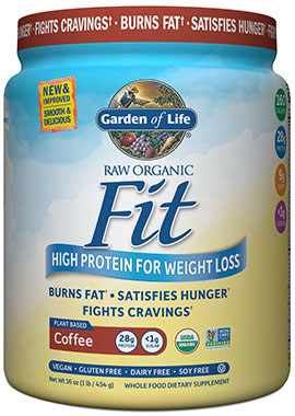 garden of life raw organic fit protein coffee 16 oz - Garden Of Life Raw Fit