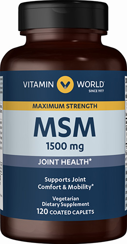 Maximum Strength MSM 1,500 mg