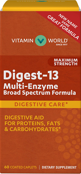 digestive enzymes break down fats, proteins and carbohydrates