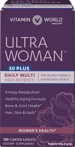 Ultra Woman™ 50 Plus Daily Multivitamins