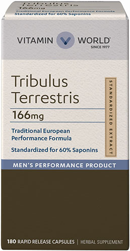 tribulus for increased testosterone and improved male health