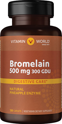 bromelain from pineapples is an effective joint product