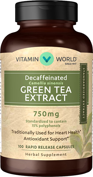 Фото #1: Decaffeinated Super Strength Green Tea Extract