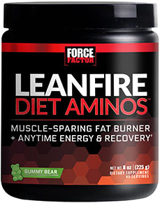Купить со скидкой LeanFire Diet Aminos™ Gummy Bear 8 oz.